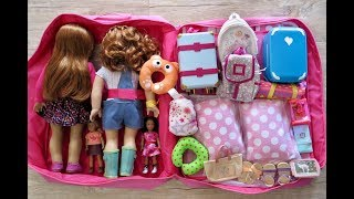 How TO TRAVEL WITH YOUR TWIN AMERICAN GIRL DOLLS ~ TWO NIGHT VACATION STAY