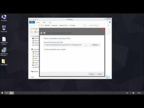 Sublime Text 3 for Kontakt Scripting