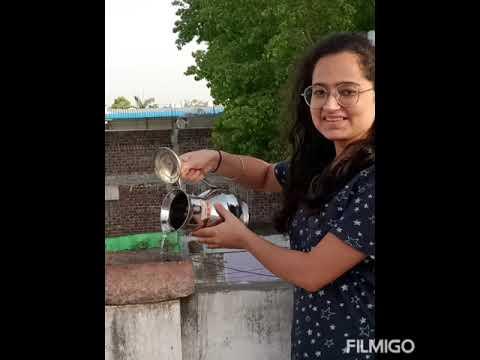 VSSS Khandwa team`s small effort to feeding water  of birds