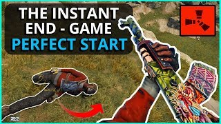The INSTANT END-GAME PERFECT START!! - RUST (Part 1)