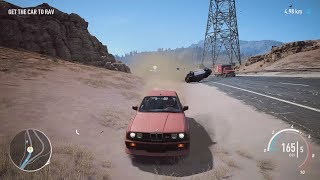NFS Payback - BMW M3 E30 Abandoned Car Location and Police Chase