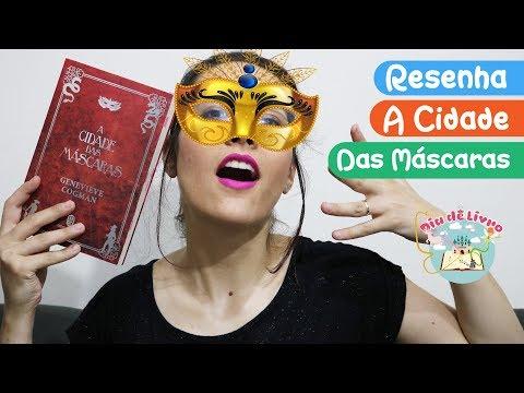 A Cidade das Máscaras | Genevieve Cogman | Ed. Morro Branco | Resenha - Dia de Livro