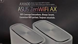 ASUS ZenWiFi AX (XT8) AX6600 Mesh WiFi 6