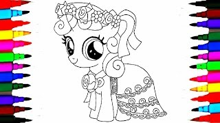 Coloring Pages MLP Pinkie Pie Books L Peppa Pig Drawing Videos For Kids Learn