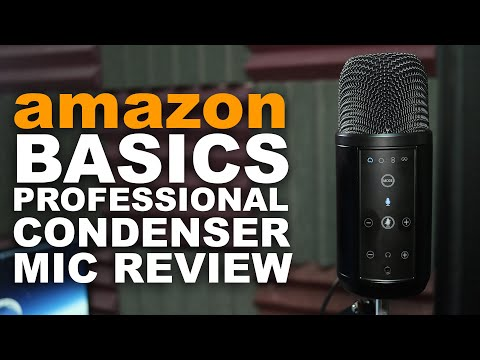AmazonBasics Professional USB Condenser Microphone Review / Test