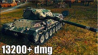 РЕКОРД ПО УРОНУ WOT Leopard 1 ✔✔✔ Карта: Хайвей - лучший бой в истории World of Tanks.