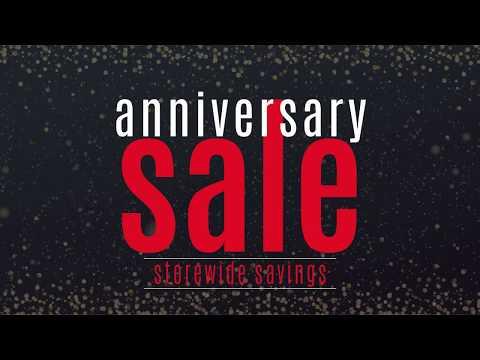Anniversary Sale - 2020