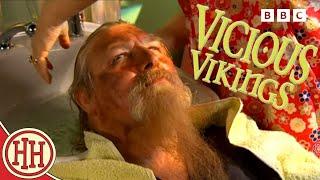 Horrible Histories - Historical Hairdressers: Viking Hair Salon | Vicious Vikings