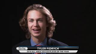 Tyler Fidrych, All-Area Soccer Player of the Year