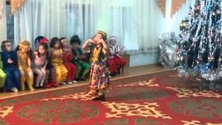 Узбекский танец Нозли гулим