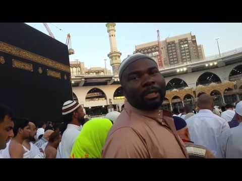 Tawaf at Kaaba with my wife to THANK ALLAH for our 10th year Wedding Anniversary