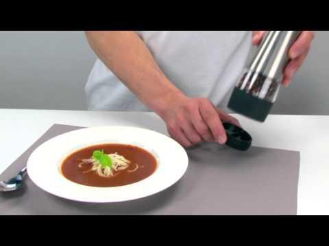 Video Tescoma Elektrický mlýnek na pepř a sůl 1
