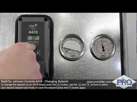 ProChiller.com - Changing A419 Setpoint