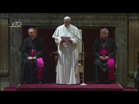 Voeux du Pape François à la Curie Romaine (2016)