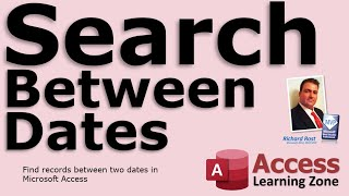 Find Records Between Two Dates with Query Criteria in Microsoft Access - Search Between Dates
