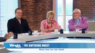 Matthew relives the horror of his performance on 'Stars in Their Eyes' WrightStuff