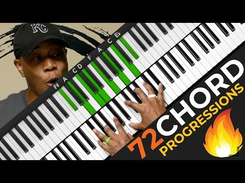 Play 72 Chord Progressions 🔥 The AMAZING 251 🎹🔥