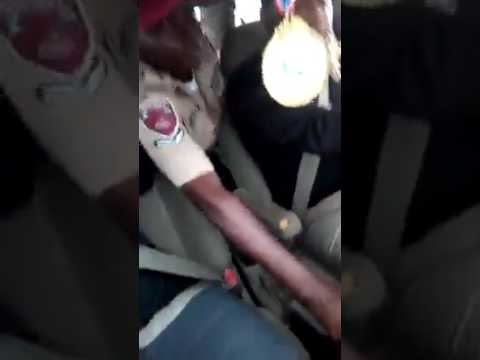 VIDEO: FRSC officer wrestle control of moving car with driver in Nigeria