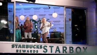 Ellen Brings Unsuspecting Fans to the Starbucks® Rewards Skybox