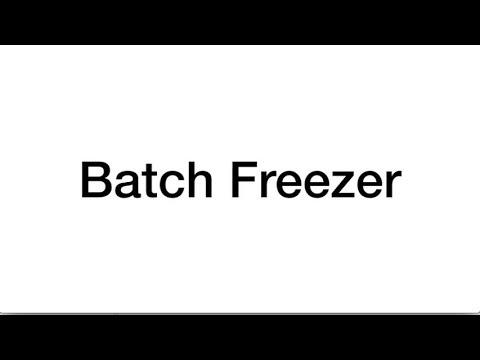 BATCH FREEZER SM-GV4