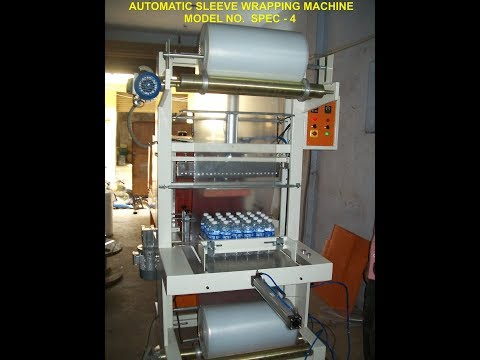 Automatic Sleeve Wrapping Machines