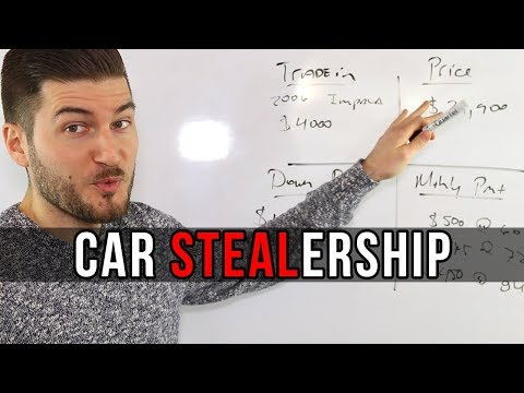 How Car Dealerships Rip You Off