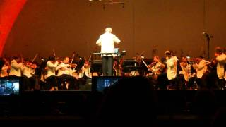 John Williams tribute to Spielberg and Lucas Films - Raiders of the Lost Ark Live 2010