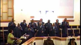 "Union Baptist Church Male Chorus Singing ""Hymn #188 Yield Not to Temptation"" 09.13.09-11A.M."