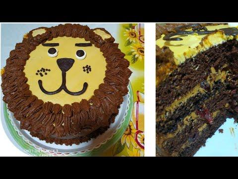 Идея торта со львов Муфаса