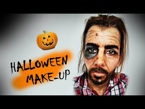 HALLOWEEN MAKEUP TUTORIAL - bezdomovec ♥ crazyDEYA