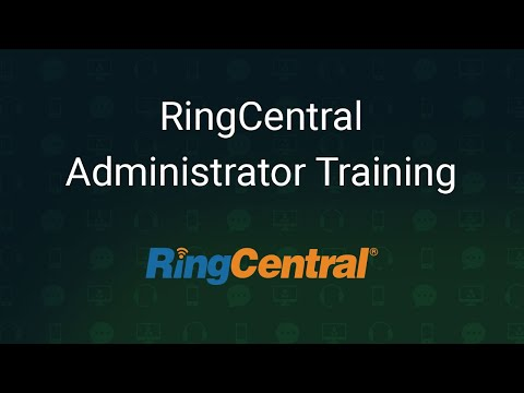RingCentral Administrator Training - YouTube