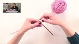 Knitting Help - Knitting Through the Back Loop (ktbl)
