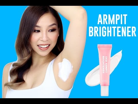 Armpit Brightener- Does it Work?! TINA TRIES IT