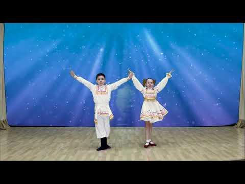 Танцуют Чуприкова Софья и Буторин Александр. Коллектив «Улыбка»