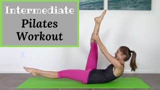 Intermediate Pilates Mat Workout - 20 Minute Pilates Workout by Jessica Valant Pilates