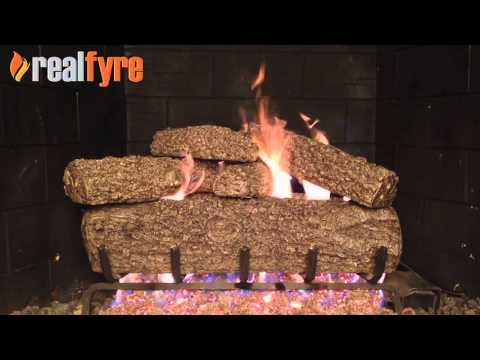 Peterson Real Fyre Post Oak Gas Logs