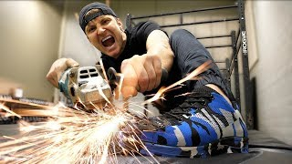 THIS SHOE CAN'T BE BROKEN!! (UNBREAKABLE SHOE CHALLENGE) As Seen On TV Test