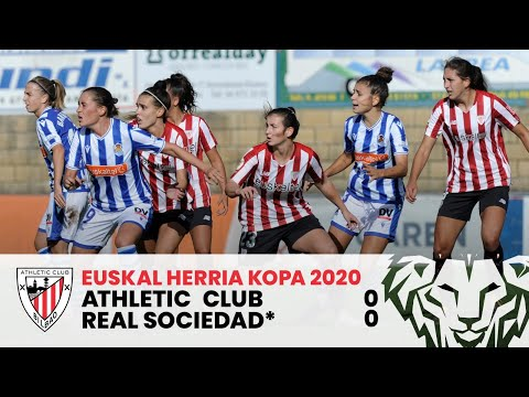 RESUMEN FEM I X Euskal Herria Kopa 2020 (final) I Athletic Club 0 – 0 Real Sociedad