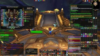 №5 Анторус героик с гильдией, world of warcraft фури вар