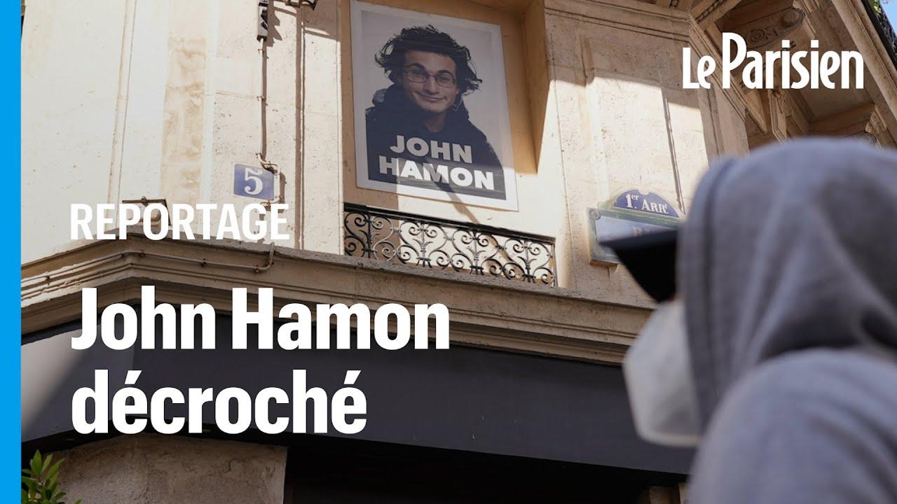 Paris : les affiches de l'artiste John Hamon dans le viseur de la mairie ?