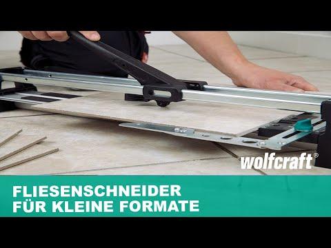 Fliesenschneider TC 460: Der Fliesenschneider für kleine Formate | wolfcraft