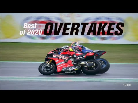 2020年のスーパーバイク。最高にエキサイティングなオーバーテイクシーンを集めたダイジェスト動画
