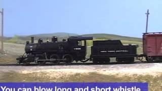 Exclusive model train video: Bachmann Trains HO scale Mogul 2-6-0 steam locomotive