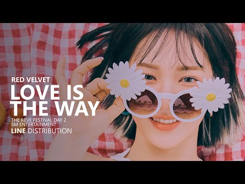 RED VELVET 레드벨벳 - LOVE IS THE WAY | Line Distribution