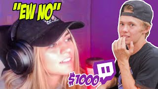 Paying Twitch Streamers To Do Challenges