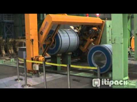 Coil packaging line - From Trio Packaging Systems