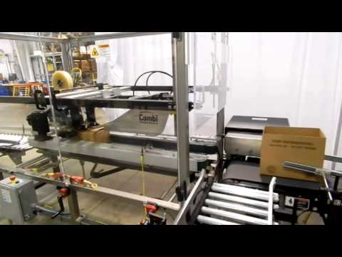 Ergopack with Product Reject System Hand Packing Station
