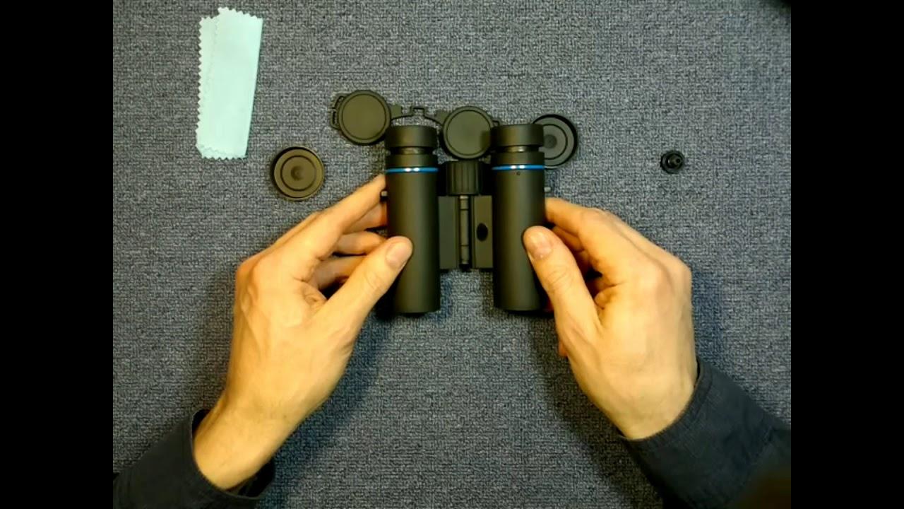 Видео о товаре Бинокль MINOX BLU 8x25