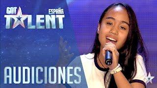 Pase de Oro: Ha llegado un angél | Audiciones 4 | Got Talent España 2016 - Video Youtube