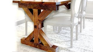 6 Mistakes Not To Make When Building A Farmhouse Table